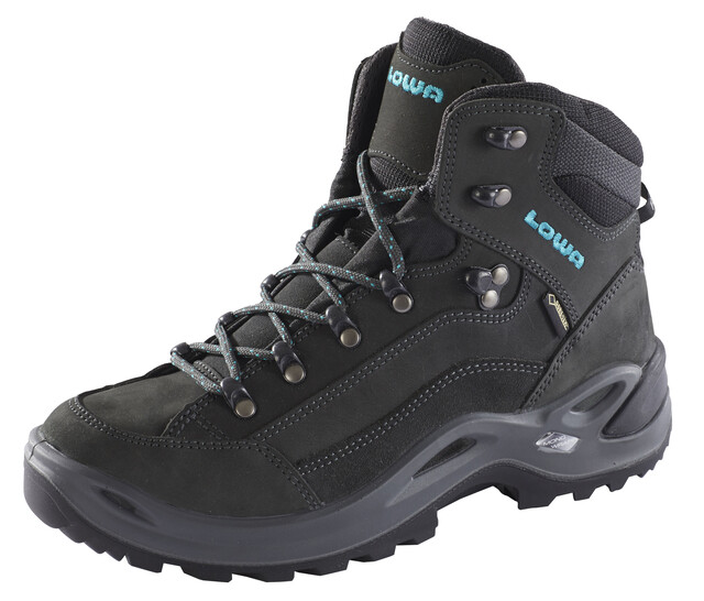 Lowa Renegade GTX Mid Shoes Damen anthraciteturquoise